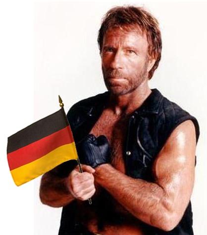 Chuck Norris ist Deutschland-Fan